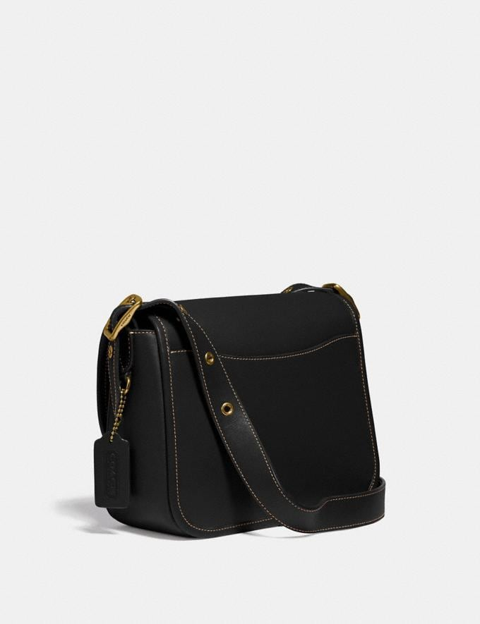 Coach Rambler Crossbody Brass/Black New Women's New Arrivals Collection Alternate View 1