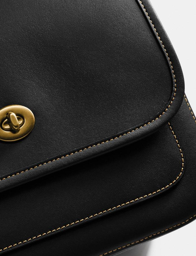 Coach Rambler Crossbody Brass/Black New Women's New Arrivals Collection Alternate View 5