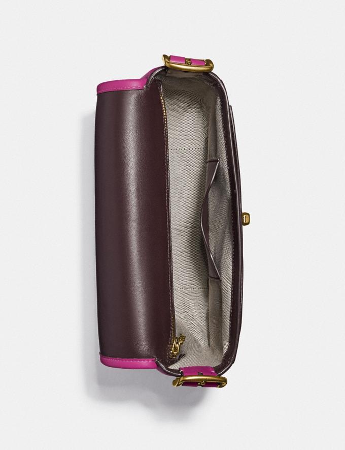 Coach Rambler Crossbody Brass/Hibiscus New Women's New Arrivals Collection Alternate View 2