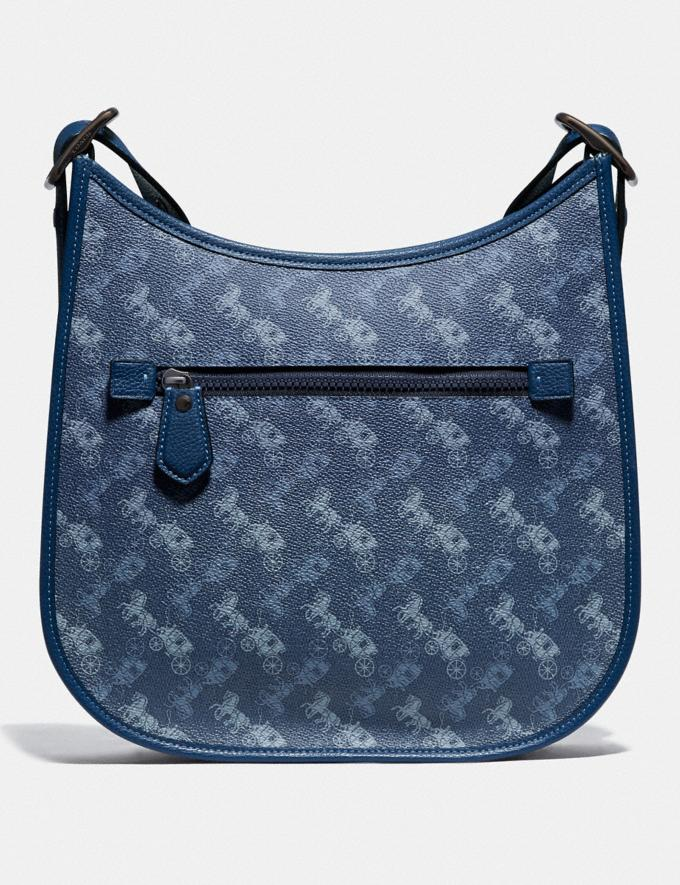 Coach Emery Crossbody With Horse and Carriage Print V5/Blue True Blue Women Bags Crossbody Bags Alternate View 2