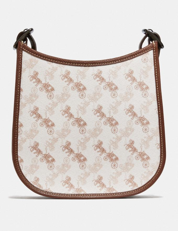 Coach Emery Crossbody 21 With Horse and Carriage Print Pewter/Chalk Dark Saddle New Featured 30% off (and more) Alternate View 2