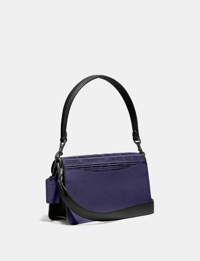 Coach Tabby Shoulder Bag 26 With Pleating V5/Cadet/Black Women Collection Tabby Alternate View 1