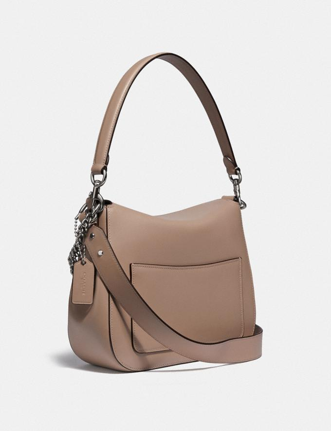 Coach Signature Chain Hobo Lh/Taupe New Women's New Arrivals Alternate View 1