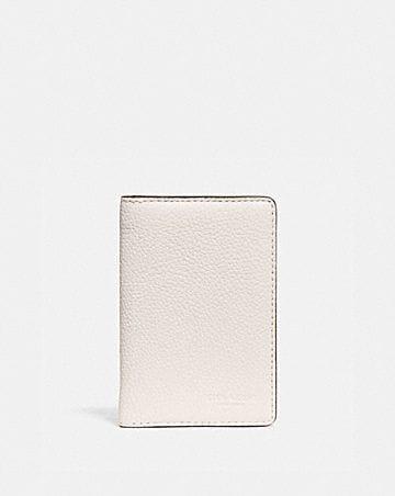 card wallet in colorblock