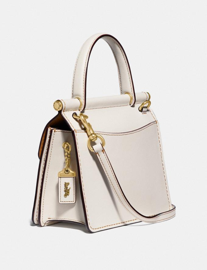 Coach Willis Top Handle 18 Brass/Chalk Gifts For Her Under $500 Alternate View 1