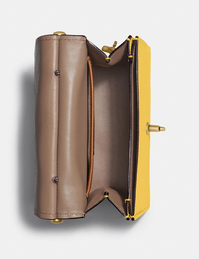 Coach Willis Top Handle 18 Brass/Sunlight SALE Sale Edits New to Sale New to Sale Alternate View 2