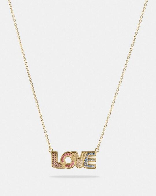 LOVE-HALSKETTE MIT GESCHENKBOX