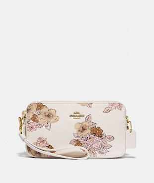 KIRA CROSSBODY WITH FLORAL BOUQUET PRINT