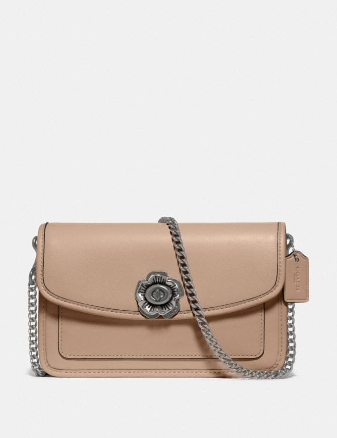 Coach Parker Crossbody Lh/Taupe New Women's New Arrivals