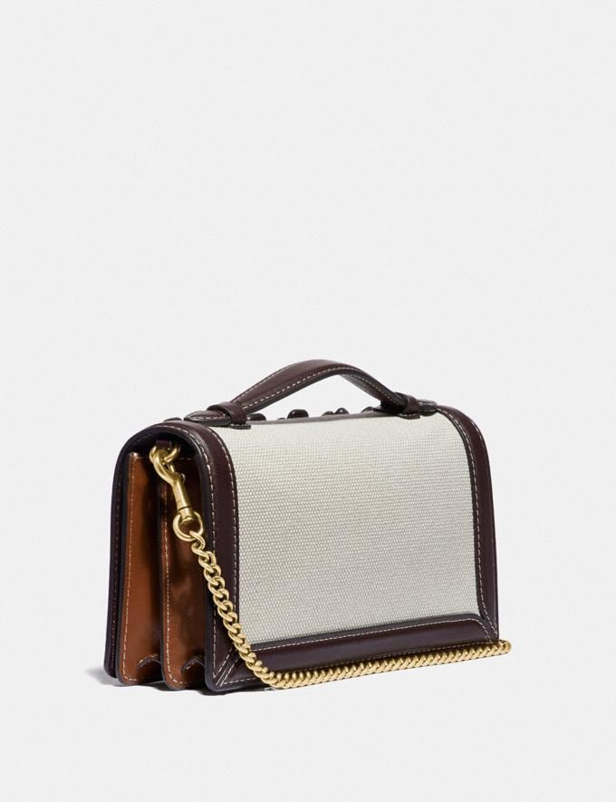 Coach Riley Chain Clutch With Tea Rose Brass/Oak Gifts For Her Bestsellers Alternate View 1