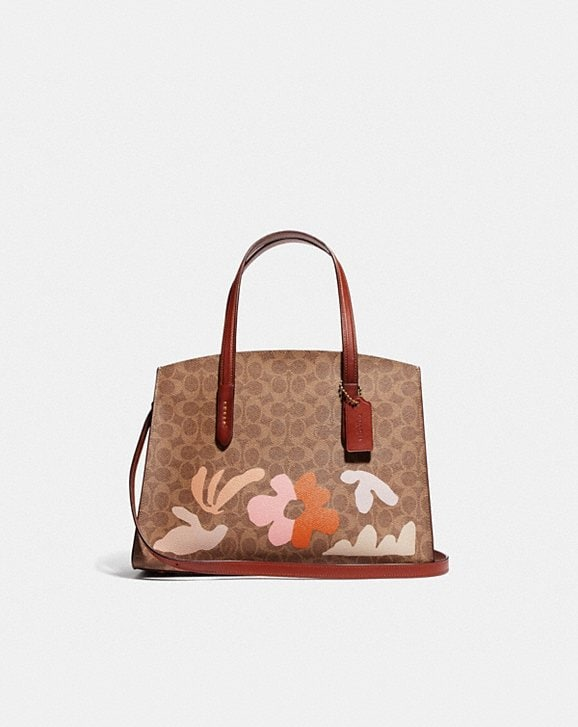 Coach CHARLIE CARRYALL IN SIGNATURE CANVAS BY MARLEIGH CULVER