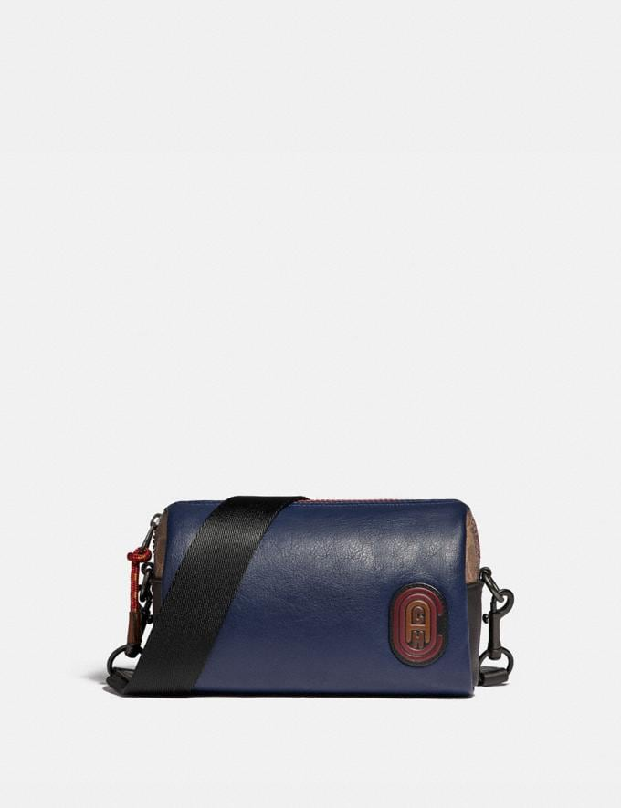 Coach Pacer Convertible Dome in Colorblock With Signature Canvas Detail and Coach Patch True Navy Multi Men Accessories