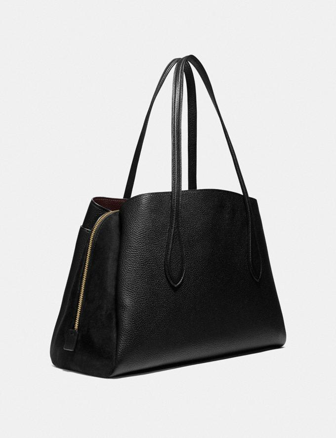 Coach Lora Carryall Brass/Black Gifts For Her Under $500 Alternate View 1
