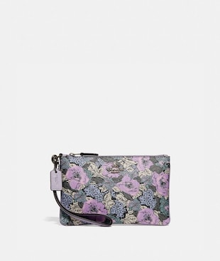 SMALL WRISTLET WITH HERITAGE FLORAL PRINT