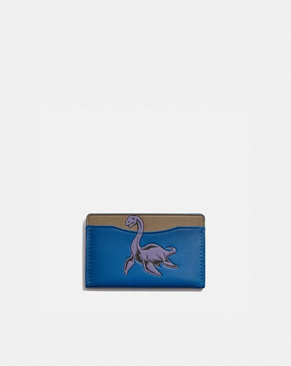 Coach SMALL CARD CASE WITH MYTHICAL MONSTERS