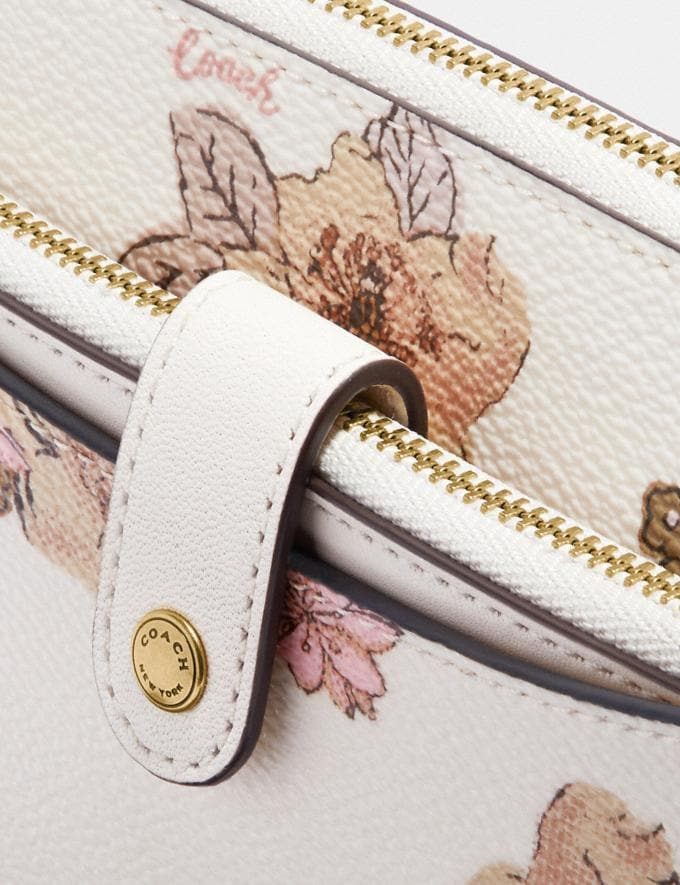 Coach Noa Pop-Up Messenger With Floral Bouquet Print Brass/Chalk Gifts For Her Under $300 Alternate View 4
