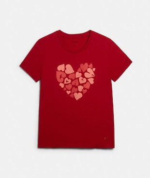COACH HEART T-SHIRT