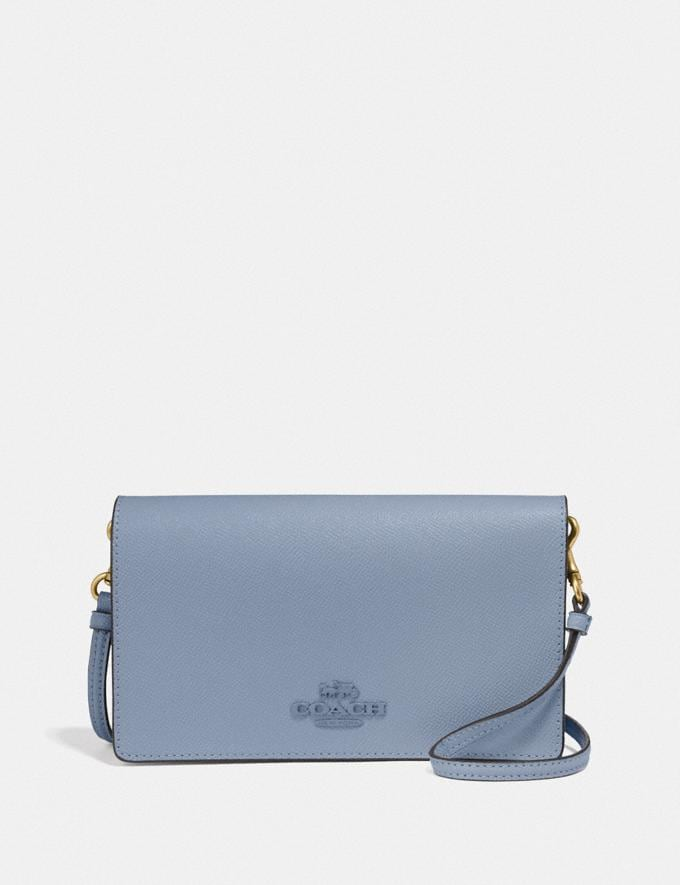 Coach Hayden Foldover Crossbody Clutch B4/Bluebell SUMMER SALE Sale Edits New to Sale New to Sale