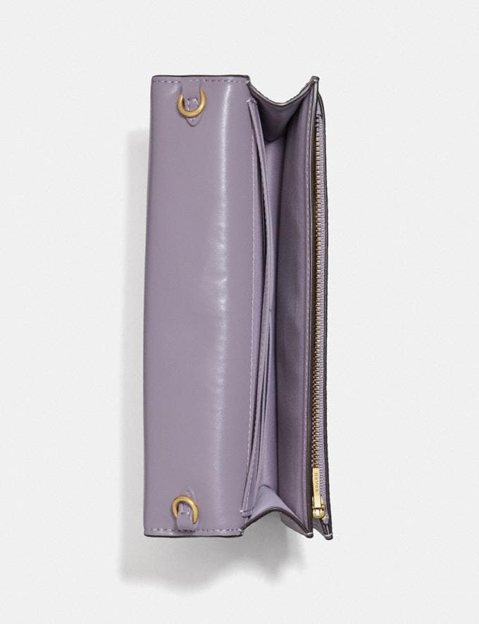 Coach Hayden Foldover Crossbody Clutch B4/Soft Lilac SUMMER SALE Sale Edits New to Sale New to Sale Alternate View 3