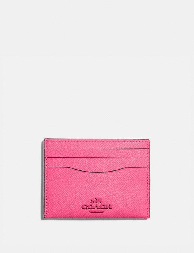 Coach Card Case B4/Confetti Pink Women Small Leather Goods Card Cases