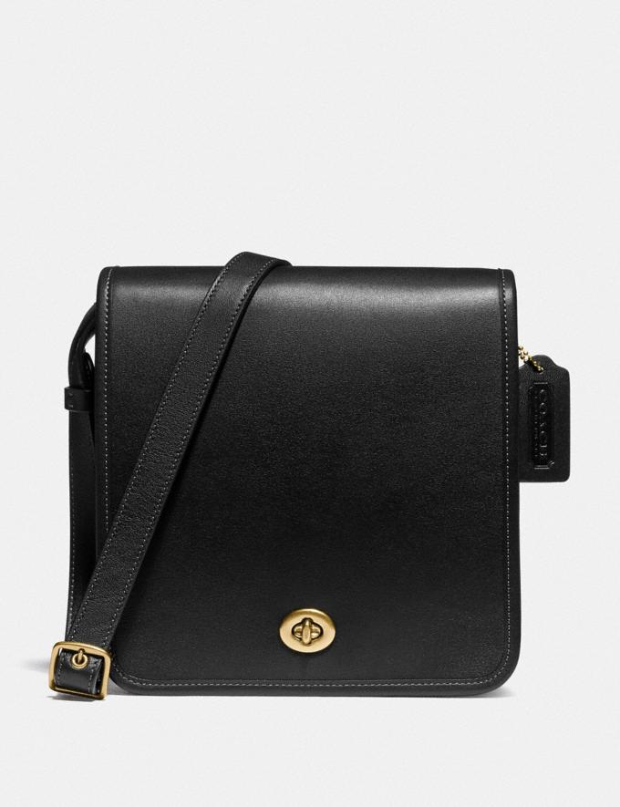 Coach Buy Now Turnlock Crossbody Black/Brass New Women's New Arrivals Bags