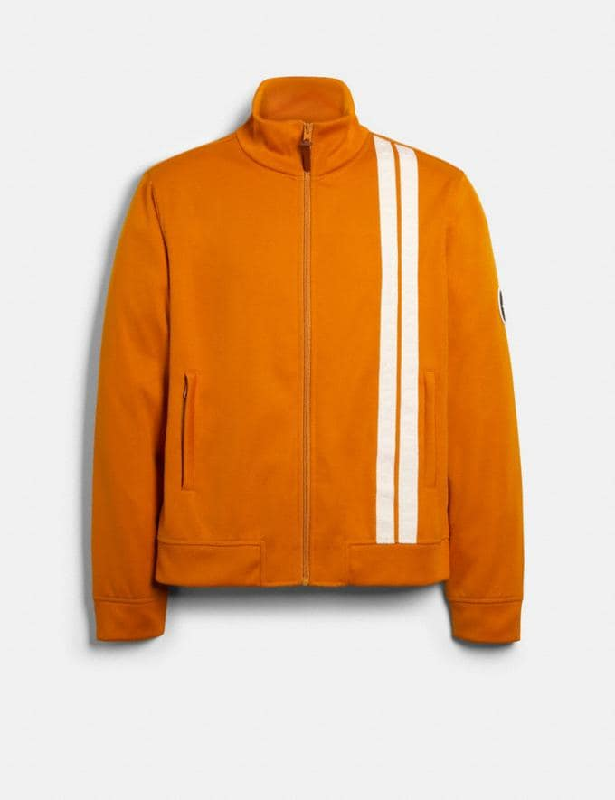 Coach Track Jacket Deep Clementine