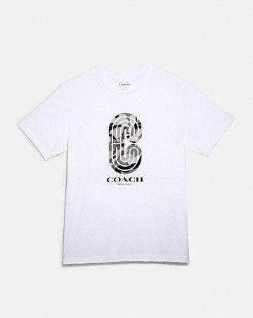 camo retro sport t-shirt