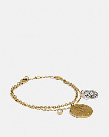 horse and carriage coin bracelet