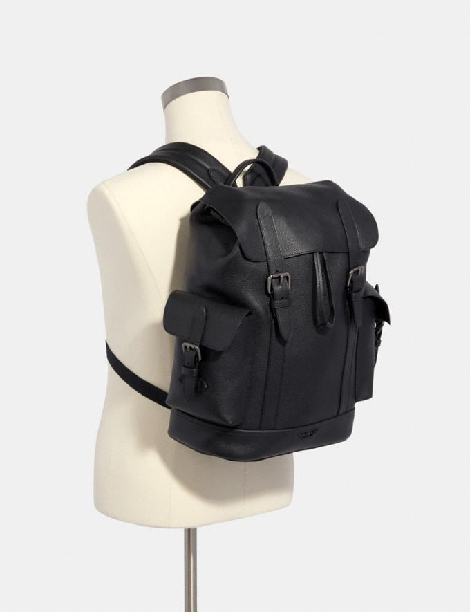 Coach Hudson Backpack Qb/Black DEFAULT_CATEGORY Alternate View 2
