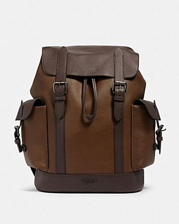 hudson backpack in colorblock