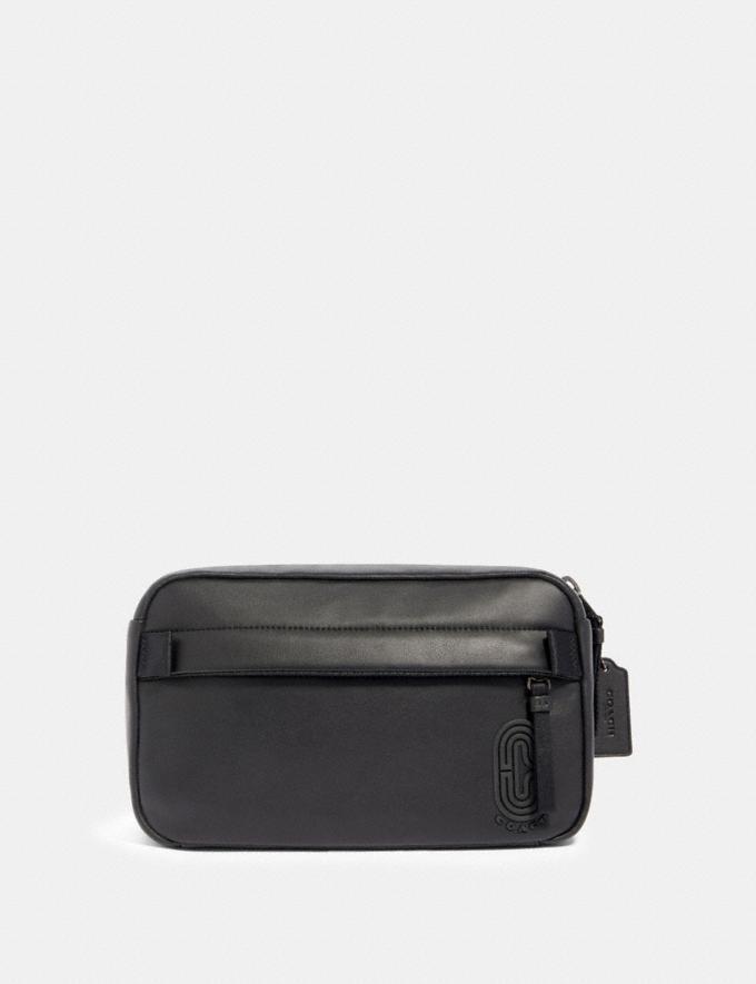 Coach Edge Belt Bag Qb/Black