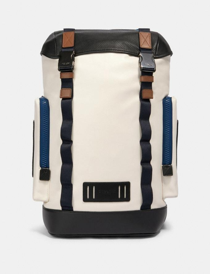 Coach Ranger Backpack With Mountaineering Detail Qb/Chalk Multi