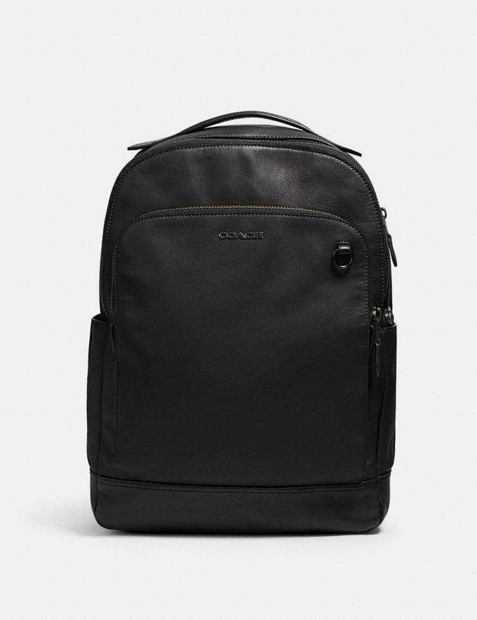 Coach Graham Backpack Qb/Black