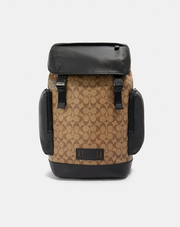 Coach RANGER BACKPACK IN SIGNATURE CANVAS