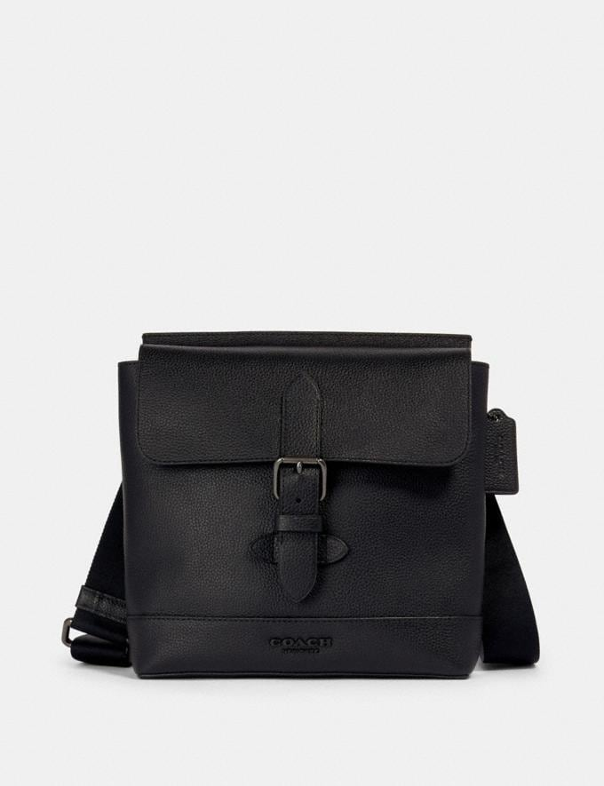Coach Hudson Crossbody Qb/Black