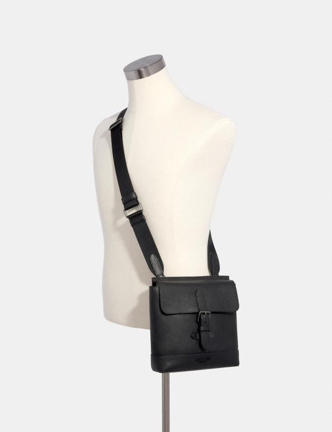 Coach Hudson Crossbody Qb/Black  Alternate View 2