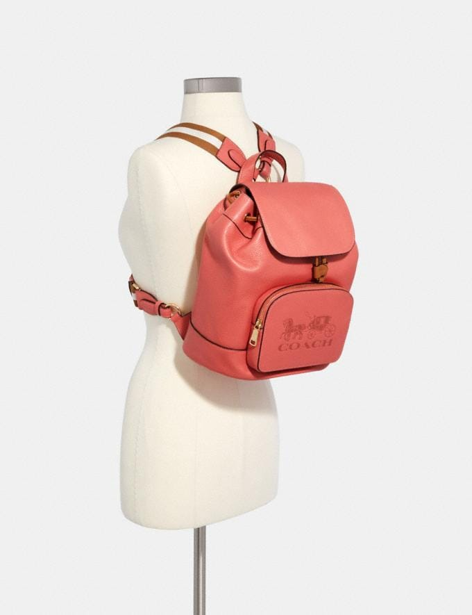 Coach Jes Backpack Im/Bright Coral  Alternate View 3