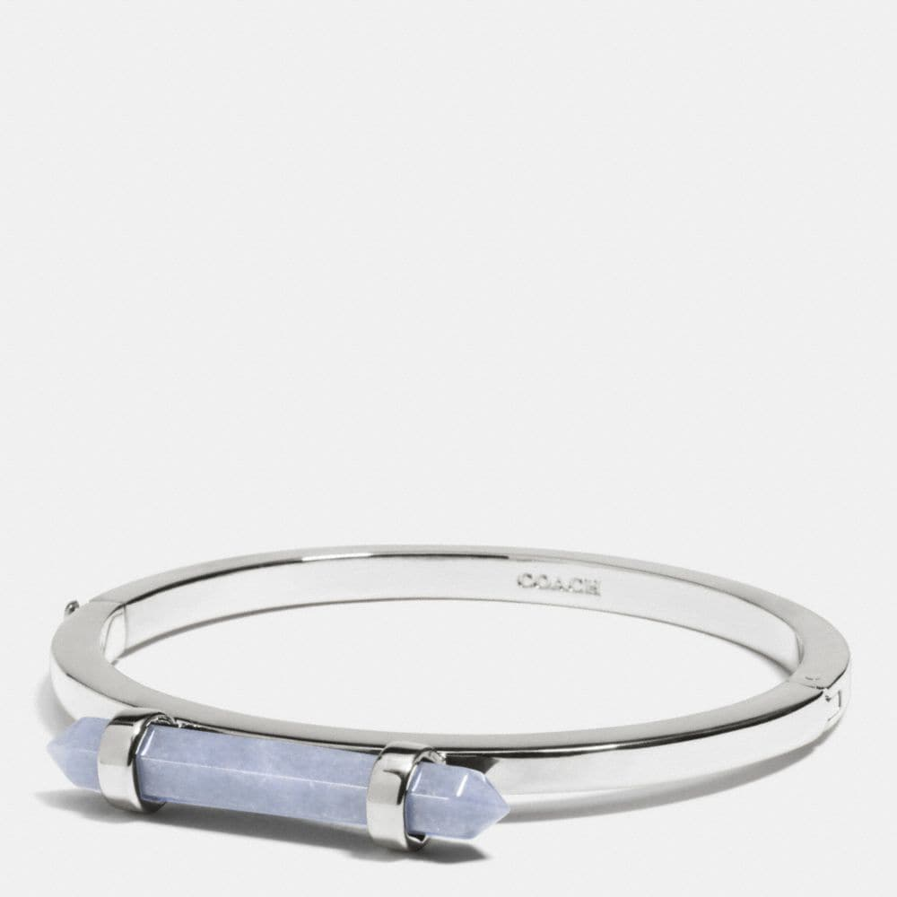 AMULET HINGED BANGLE