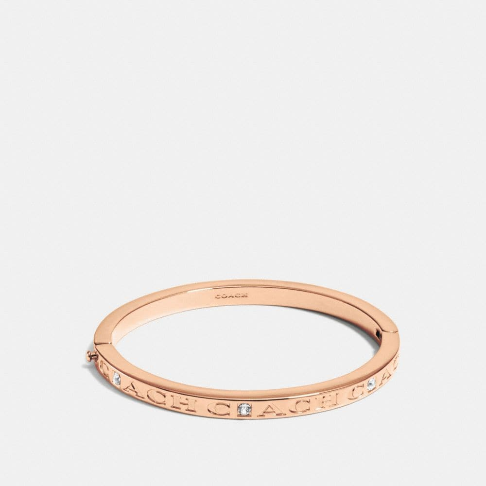 Coach Coach Pave Hinged Bangle