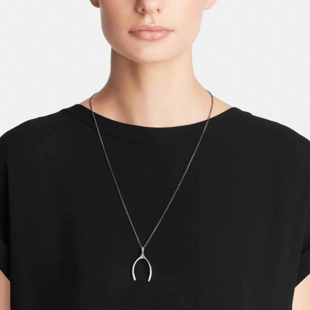Wishbone Necklace - Alternate View A1