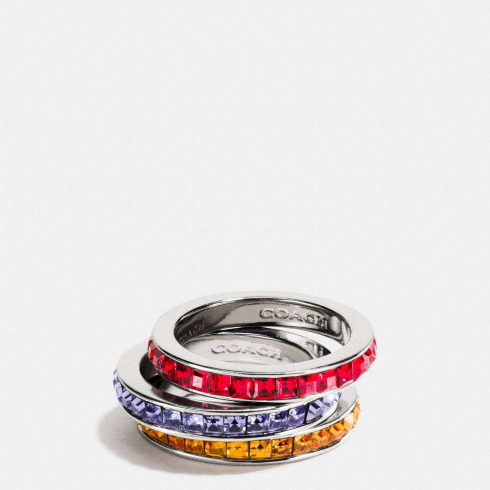 RAINBOW RING SET