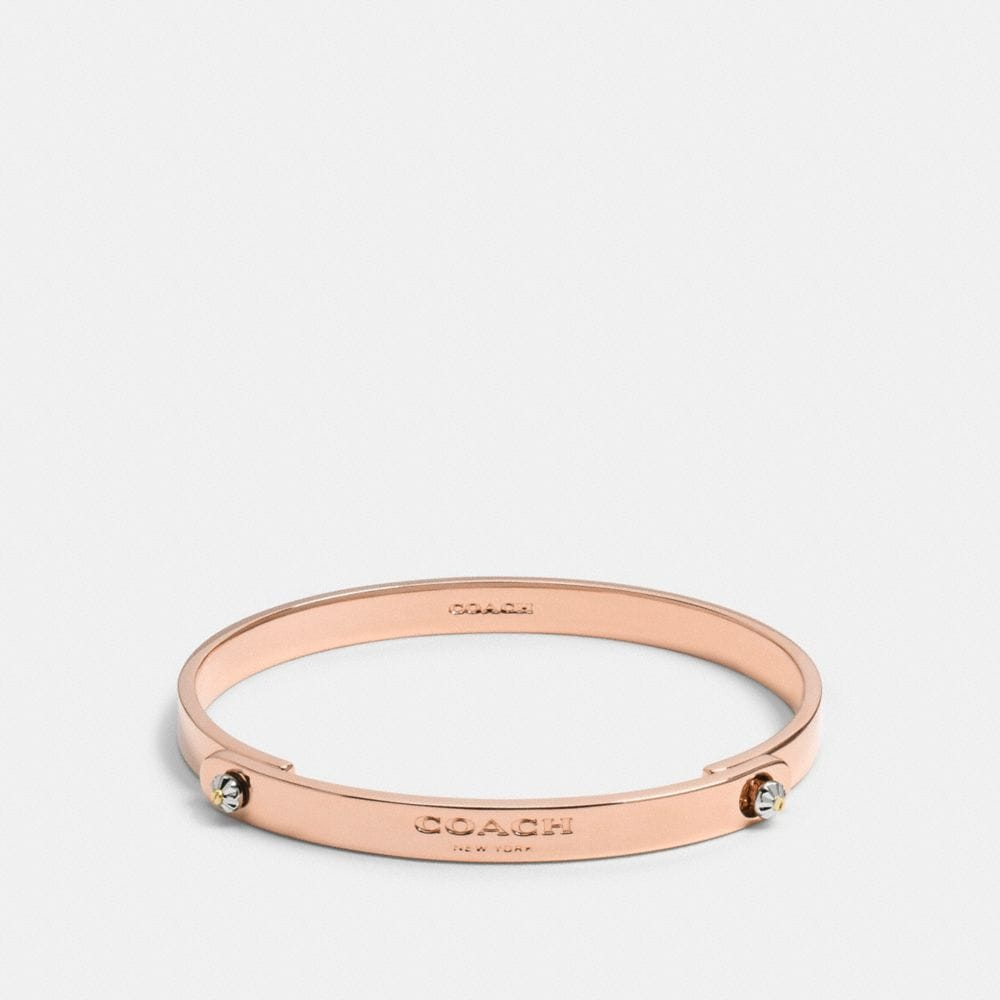 Daisy Rivet Coach Tension Bangle
