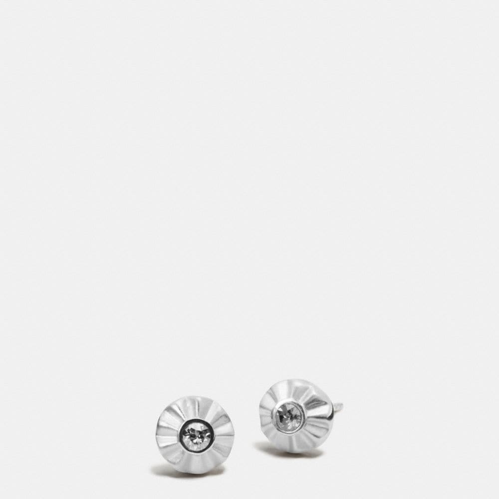 Coach Daisy Rivet Stud Earrings