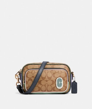 COURT CROSSBODY IN SIGNATURE NYLON