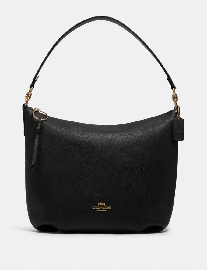 Coach Skylar Hobo Im/Black Clearance