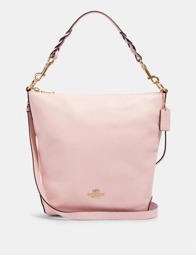 Coach Abby Shoulder Bag With Rose Bouquet Print Interior Im/Blossom Clearance New To Clearance