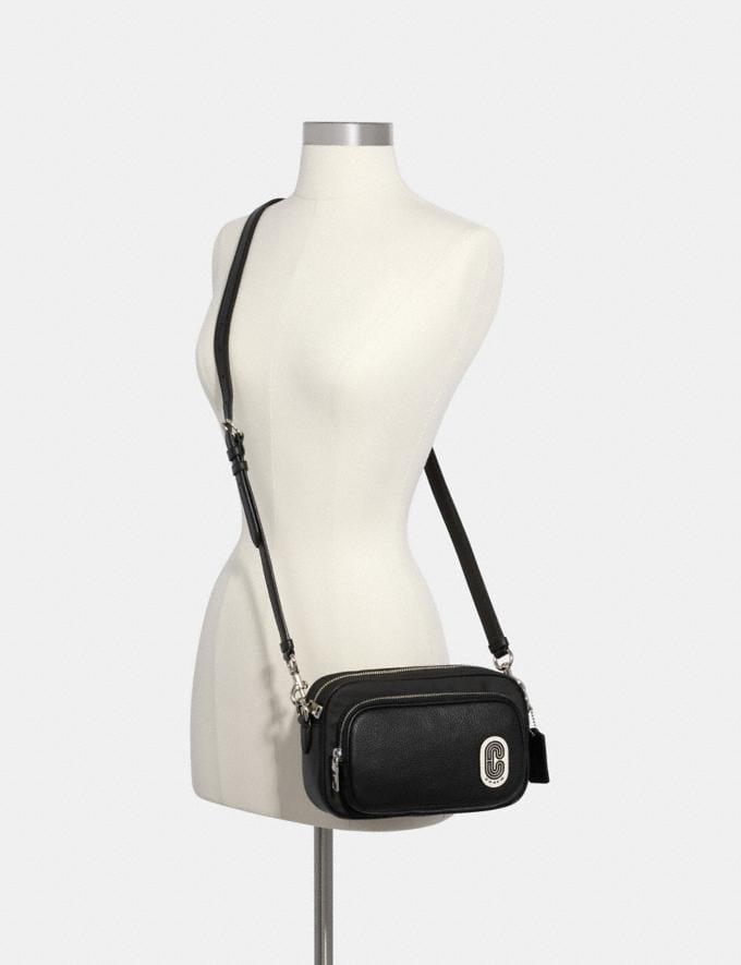 Coach Court Crossbody Sv/Black Women Bags Alternate View 2