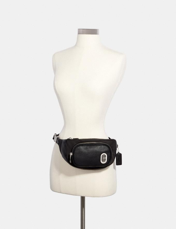 Coach Court Belt Bag Sv/Black  Alternate View 2