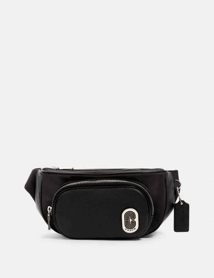 Coach Court Belt Bag Sv/Black