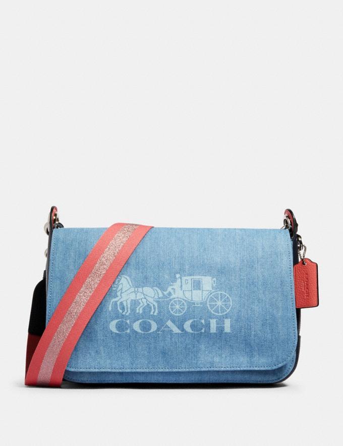 Coach Jes Messenger Sv/Denim